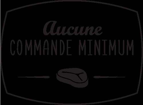 Boucherie en ligne, aucune commande minimum