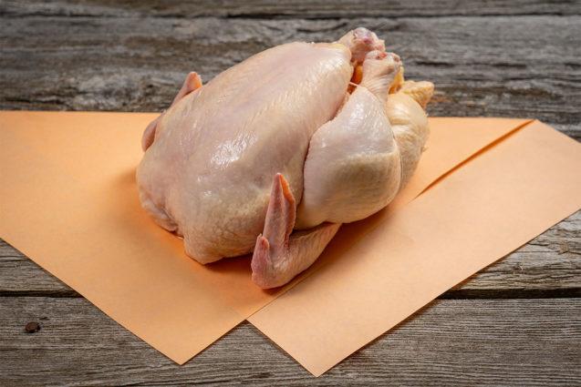 poulet de grains entier