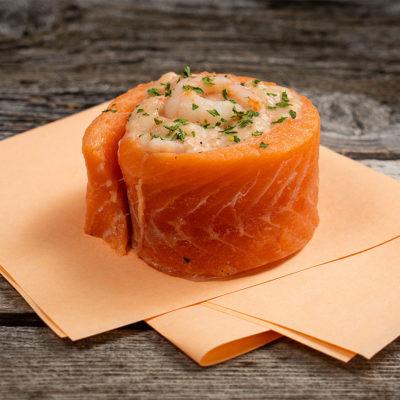 rosette de truite aux fruits de mer